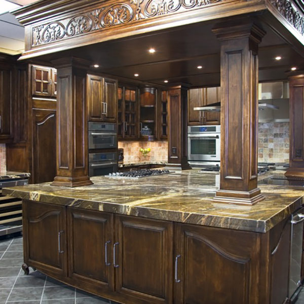 Traditional kitchen cabinet design contracting tulsa for Kitchen ideas tulsa ok