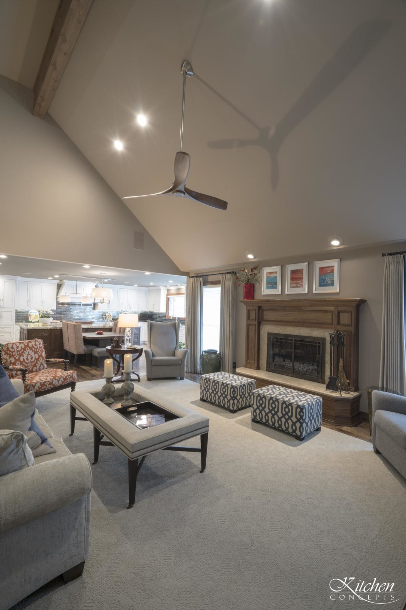 Living Room Remodel With Grand Piano