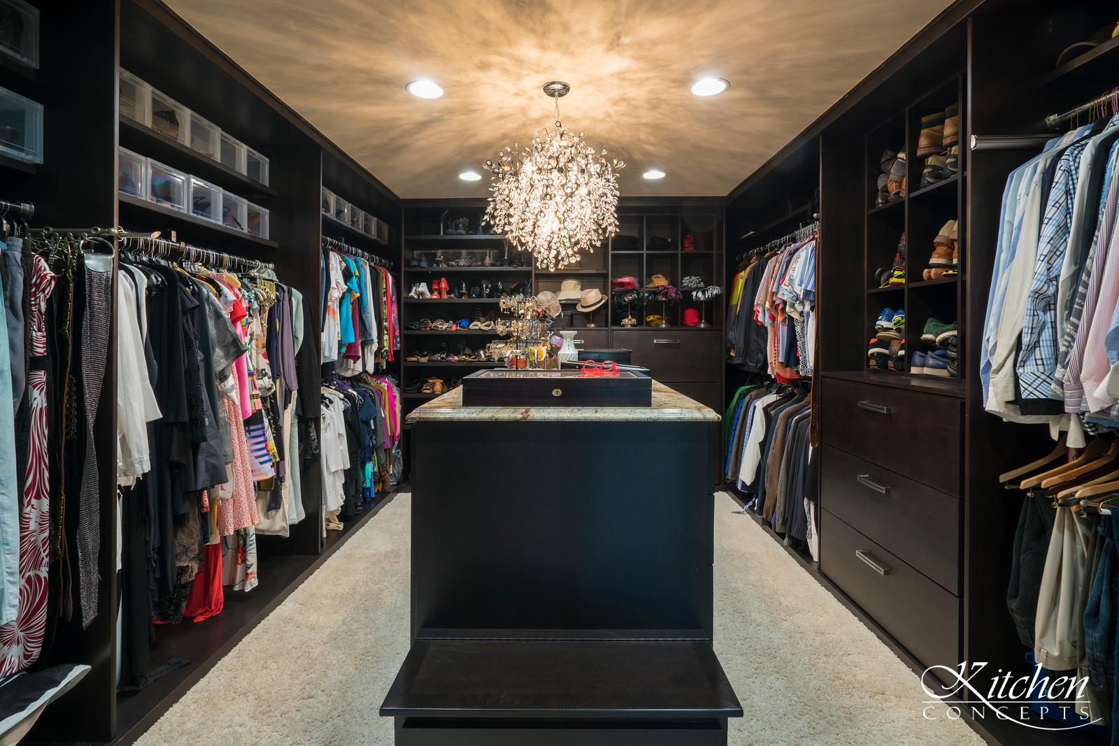 Closet with Interior Detailing