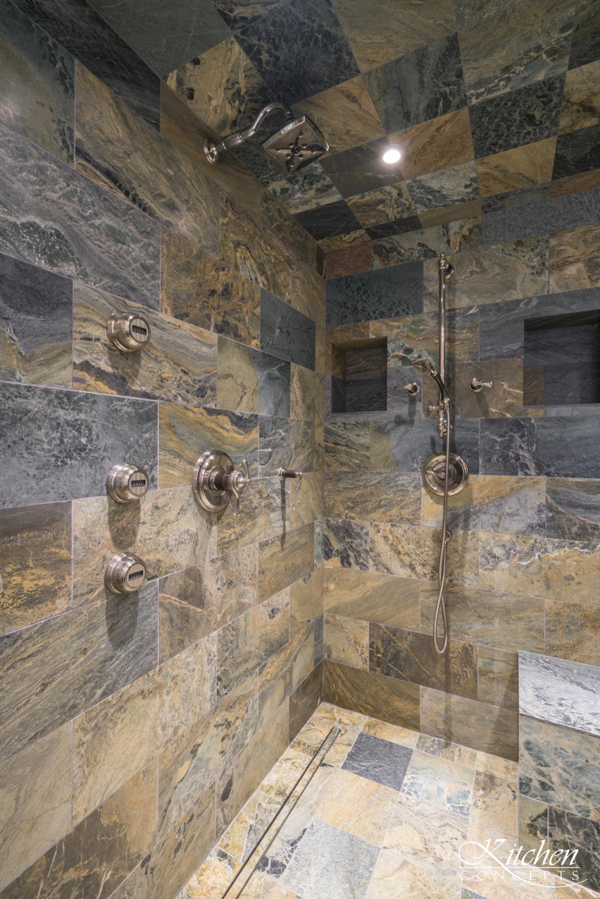Stone Bathroom Shower
