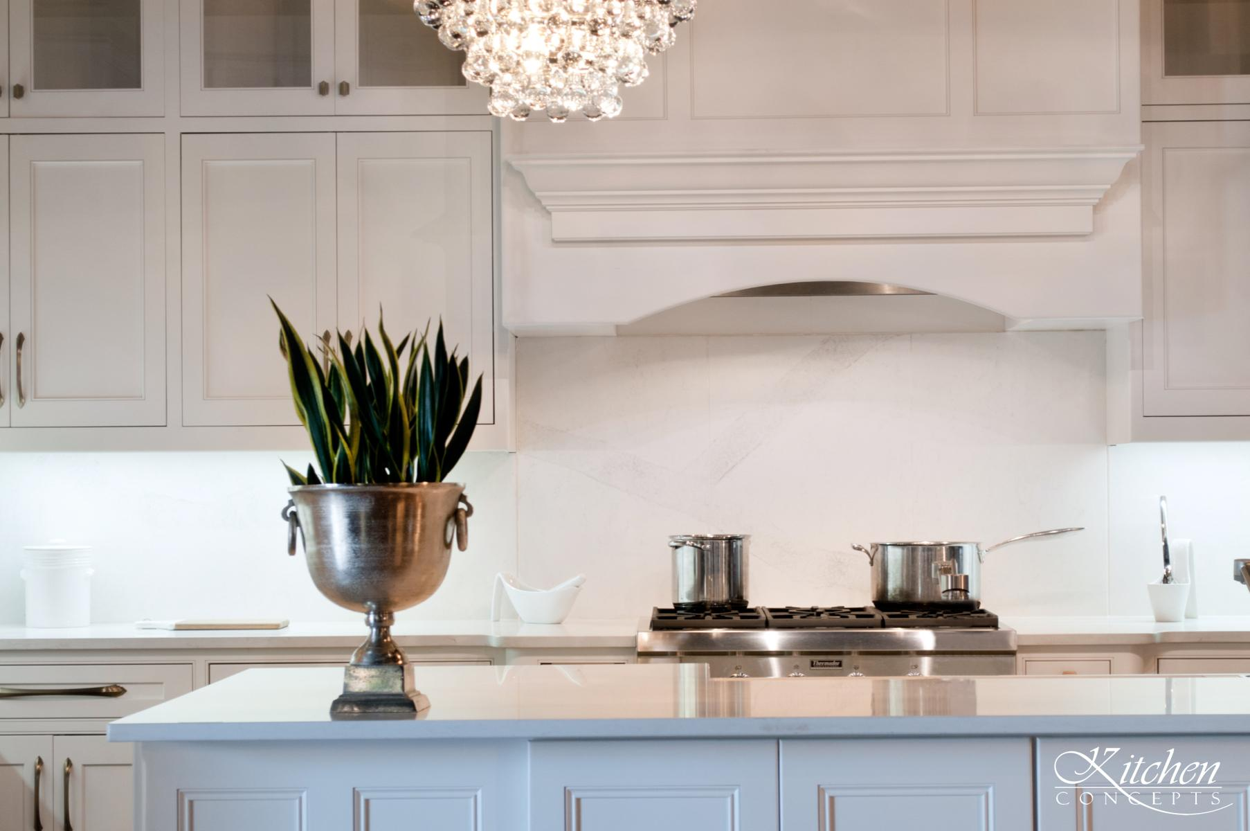 Custom White Kitchen At Kitchen Concepts Kitchen Concepts