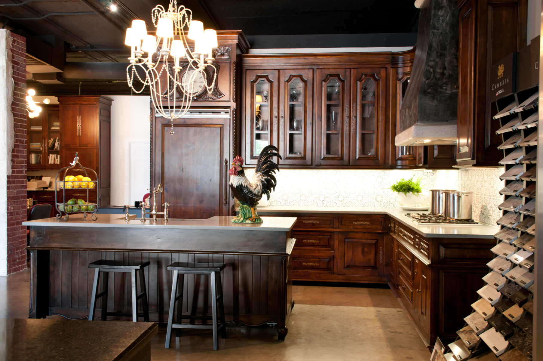 The Fully Custom Traditional Kitchen at Kitchen Concepts